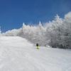 【蔵王のスキー最高】ちょうどこの時期にスキースクールの中国語通訳の練習会