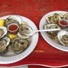 オイスターフェスティバルで生牡蠣をたらふく食べてきました。