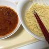 つけ麺方式ミートソーススパゲッティー