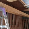 波板ポリカの屋根を補強するpart5