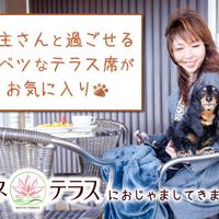 【ペットOK!】愛犬と過ごすテラス席でのトクベツな時間!「ハスネテラス」【PR】