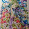 桜の姫進捗状況:髪が地味に一番大変かも