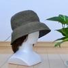 夏の帽子を編みました。