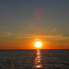 【ニューヨーク州でお出かけ】オンタリオ湖畔で夕陽を見る