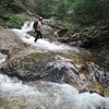 摩耶山 増水した地蔵谷を歩く