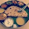 南印度レストラン(ペナン島)のチャパティセット