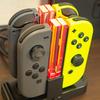 【Nintendo Switch】Joy-Conの充電面倒くさいから専用の充電スタンド買ってみた(KINGTOP TNS-1756)
