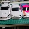 【Mini-Z】ホワイトボディ5枚を一気に作成します!   ~12C、ZL1、AMG、V.Spec、NISMO~