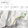 ショートスキー壊れる、2日連続723峰
