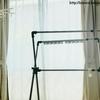 【我が家の洗濯物部屋】室内物干しをフル活用しています。