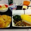 ANA成田ーシンガポール ビジネスクラス機内食と早朝のシルバークリスラウンジ