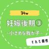 【34w/妊娠後期③】久しぶりのエコー検査!2000g未満の小さめな赤ちゃん