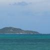 神の島と言われている宮古諸島の大神島に渡る(沖縄の宮古諸島の大神島)