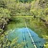 丸池水道水源池(長野県志賀高原)