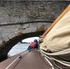 ノーフォークの川をティーゼル号で帆走する (3) 橋をくぐる編