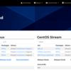 CentOS8のインストール