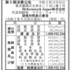 Birkenstock Japan株式会社 第5期決算公告