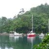 ヨットで一度は訪れたい所です。能登小木港九十九湾奥