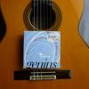 ギター弦交換:GALLIチタニウム弦
