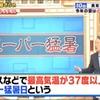 気象庁は異常天候早期警戒情報を発表!7月14日頃から約1週間は暑さに警戒!3連休は東京でも猛暑日、大阪・山梨ではスーパー猛暑日予想!!