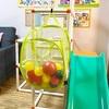 【雨の日・室内遊び】運動にもなる100均グッズで「玉入れ&バスケット」おもちゃの作り方
