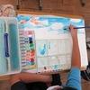 5年生:図工 大造じいさんとガン 彩色