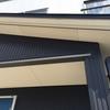 長岡市で風除湿のお見積!今回は木製で板金工事のみです!