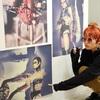 自分の作品展を見に行ってきました。