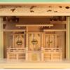 箱宮形式だけど箱宮神殿とは違う 神棚をそのまま入れて使うとこうなる