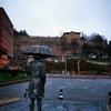 (週末ロックダウン)のジュマルクズック村を孤独に歩く!しかも小雨!!
