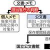 公文書めぐる不祥事 相次ぐ 「第三者の監視必要」 - 東京新聞(2018年4月3日)