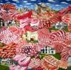 八丁堀のギャラリーで松本真由子展「混在」を見る