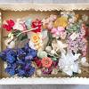 フランスの布花たち