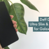 Deff Ultra Slim & Light Case DURO for Galaxy S20+ レビュー(→大満足)
