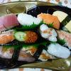 握り寿司のお弁当
