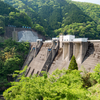 【ダム】数少ない中空重力式コンクリートの横山ダム(2019/05/11)