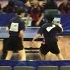 リーグ2戦目・三番ダブルス 2019年 全日本実業団卓球選手権 和歌山 大会