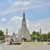 改修工事がほぼ終わったバンコクのワットアルン