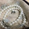 冠婚葬祭用に《貝パール》のネックレスを買った