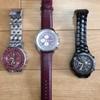 腕時計のバンド&電池交換と金属バンド洗浄(TKS-210使用)