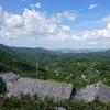 紀伊山地眺望と限界集落
