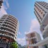 【マイクラ】駅前にマンションを建てる