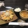 禁酒日のディナー(ヘルシー餃子定食)