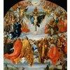 デューラー「聖三位一体」 化け物の絵を有難がって拝む、眼の見えない信者たち
