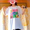 pixiv factoryのシャツ、洗濯したら終わった。