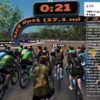 【Zwift】WBR 4 Lap Flat RACE 出場してみた