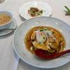 🚩外食日記(165)    宮崎ランチ   「中国料理 龍王」より、【キノコたっぷりズワイガニとエビの天津飯】‼️