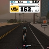ローラー記録33、Zwift - SST (Short)、DNF