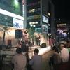 週末、横浜西口で