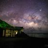 【天体撮影記 第133夜】 沖縄県 与那国島 水平線の向こう、南十字星と夏の天の川